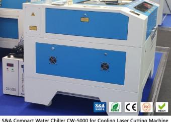 Malý vodní chladič CW5000 pro CO2 laserovou gravírovací frézu